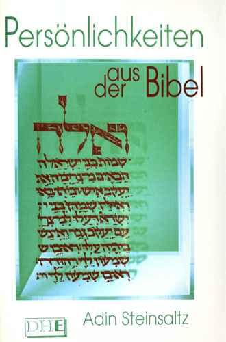 Persönlichkeiten aus der Bibel Adin Steinsaltz